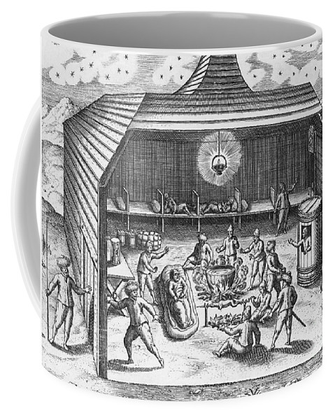 Historic Coffee Mug featuring the photograph Barents Expedition Wintering In Arctic by Science Source