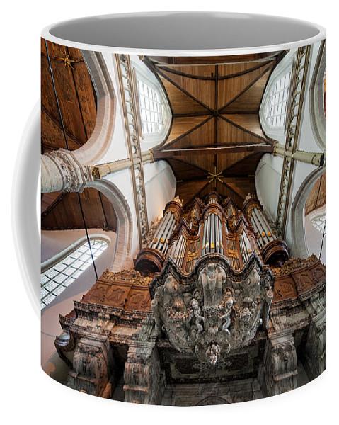 Oude Coffee Mug featuring the photograph Baroque Grand Organ In Oude Kerk by Artur Bogacki