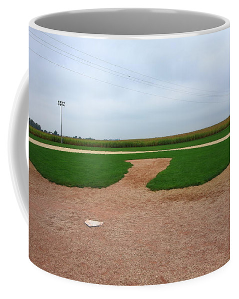 America Coffee Mug featuring the photograph Baseball by Frank Romeo