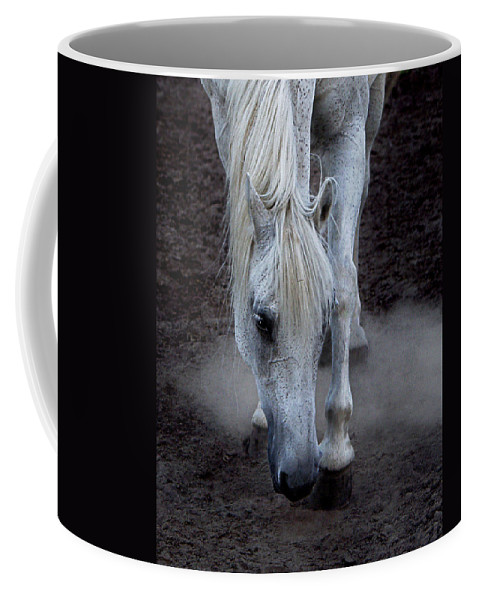 Horse Coffee Mug featuring the photograph Basic Instincts by Joachim G Pinkawa