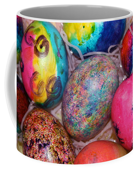 Easter Coffee Mug featuring the photograph Basket Case by Brook Steed