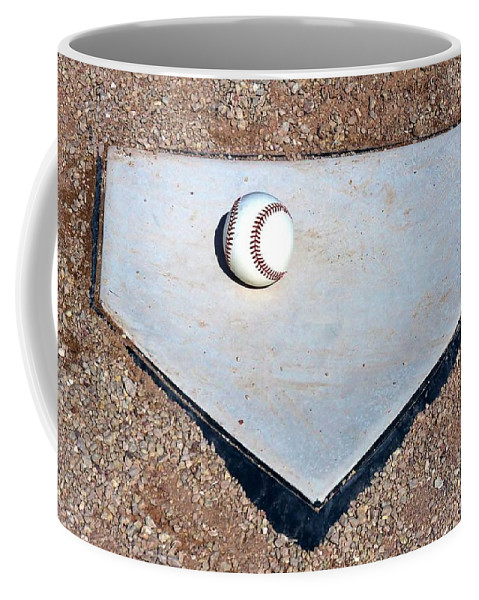 Baseball Coffee Mug featuring the photograph Batter Up by Christopher Miles Carter