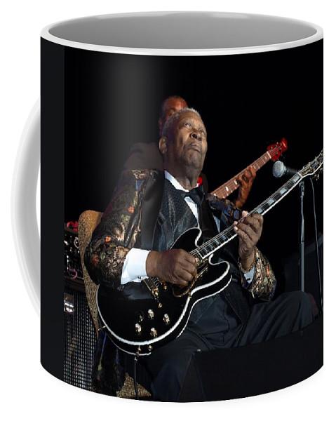 B.b. King Coffee Mug featuring the photograph B.b. King by William Morgan