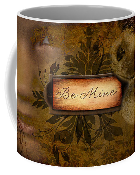 Valentine Coffee Mug featuring the photograph Be Mine by Jayne Gohr