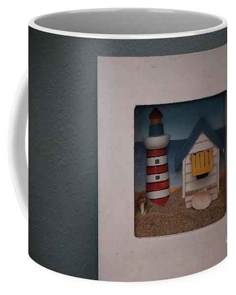 Lighthours Coffee Mug featuring the photograph Beach House by Sharon Elliott
