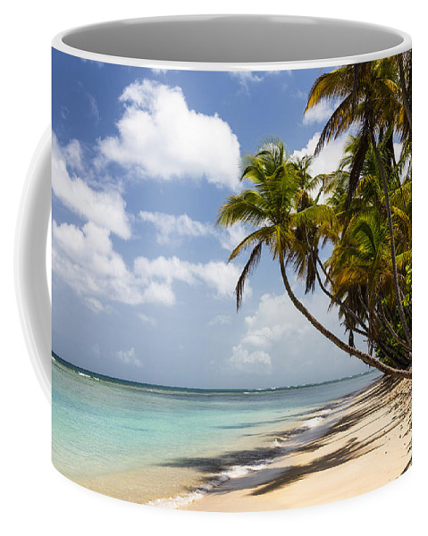 Konrad Wothe Coffee Mug featuring the photograph Beach Pigeon Point Tobago West Indies by Konrad Wothe