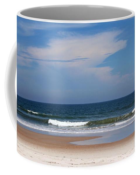 Beach Coffee Mug featuring the photograph Beach Time by Cynthia Guinn