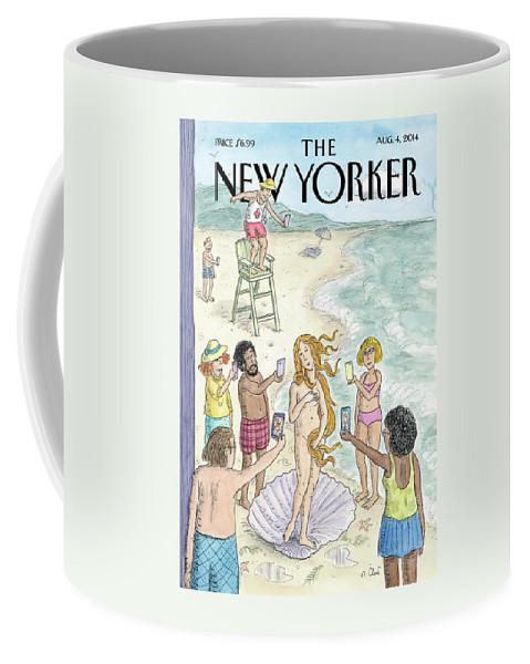 Venus on the Beach Coffee Mug
