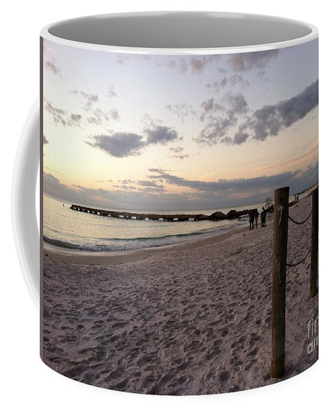 Landscape Coffee Mug featuring the photograph Beachscape by Melissa Darnell Glowacki