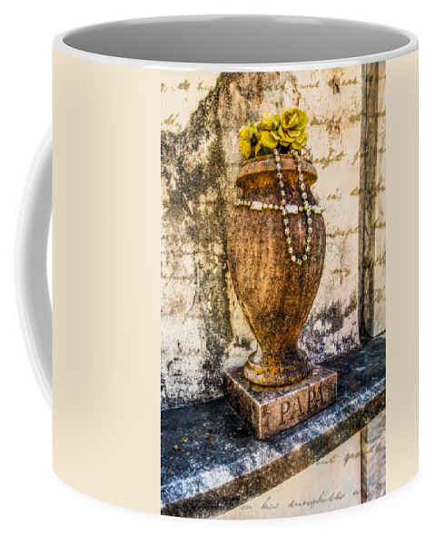 Nawlins Coffee Mug featuring the photograph Beads For Papa by Melinda Ledsome