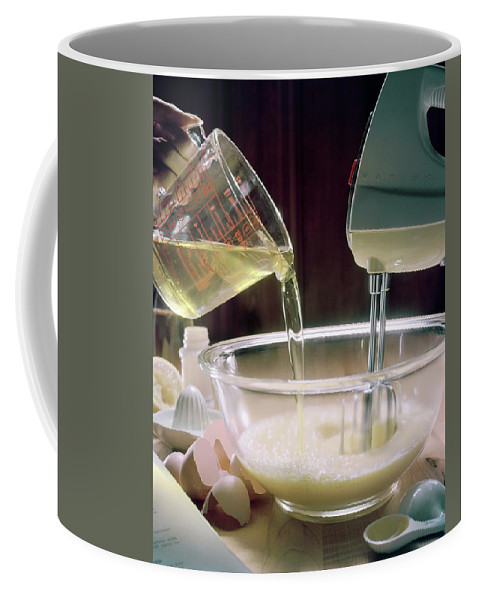 Still Life Coffee Mug featuring the photograph Beating Eggs by Karen Radkai