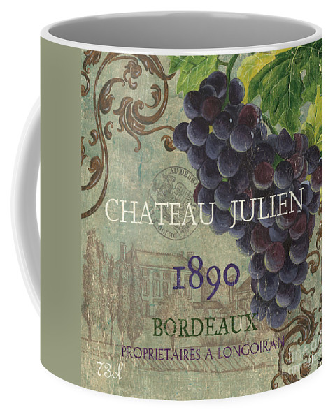Wine Coffee Mug featuring the painting Beaujolais Nouveau 2 by Debbie DeWitt