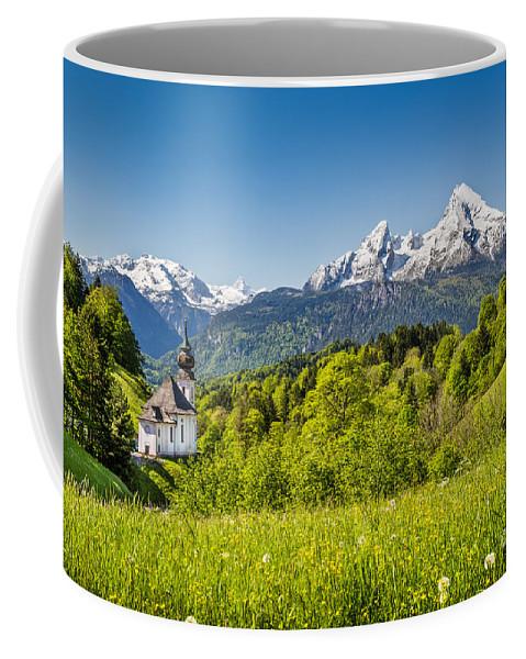 Alpine Coffee Mug featuring the photograph Beautiful Bavaria by JR Photography