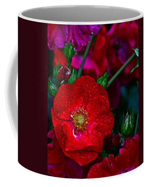 Bouquet Coffee Mug featuring the photograph Beautiful Bouquet by Frozen in Time Fine Art Photography