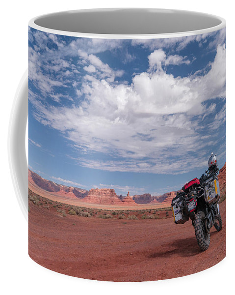 Bmw Coffee Mug featuring the photograph Beautiful Day For A Ride by Charlie Choc