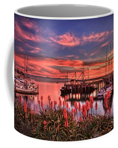 Morro Bay Coffee Mug featuring the photograph Beautiful Harbor by Beth Sargent