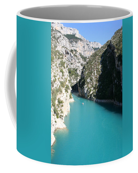 Lake Coffee Mug featuring the photograph Beautiful Lac De Ste. Croix by Christiane Schulze Art And Photography