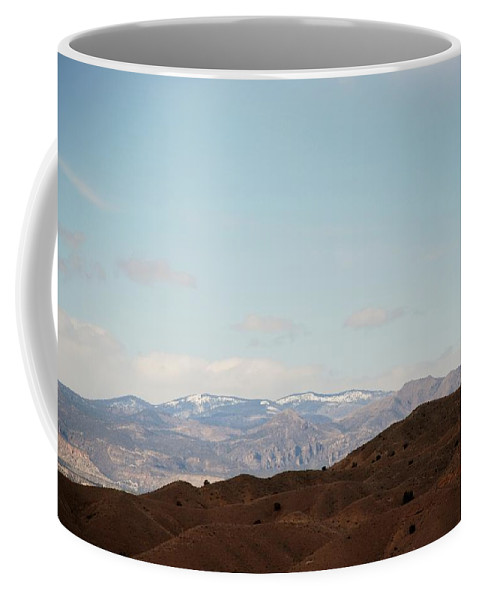 Desert Coffee Mug featuring the photograph Beautiful New Mexico by Rob Hans