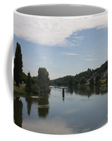 River Coffee Mug featuring the photograph Beautiful River Loire by Christiane Schulze Art And Photography