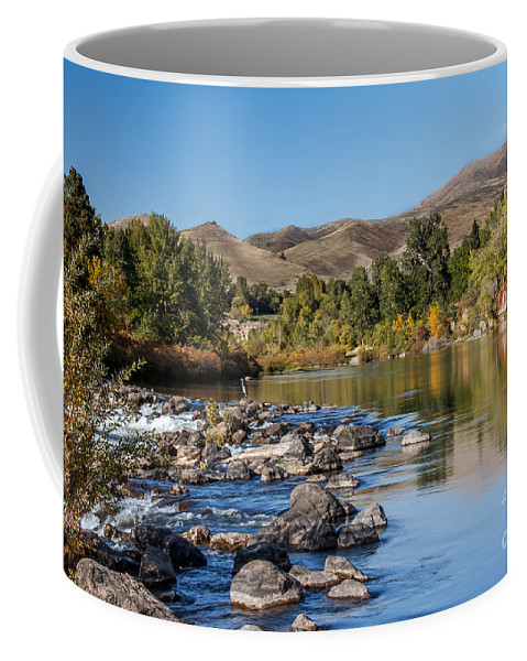 Emmett Coffee Mug featuring the photograph Beautiful River by Robert Bales
