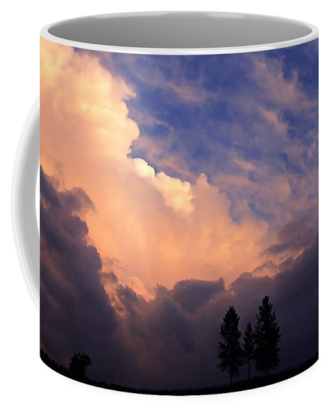 Clouds Coffee Mug featuring the photograph Beautiful Sky by Ingrid Smith-Johnsen