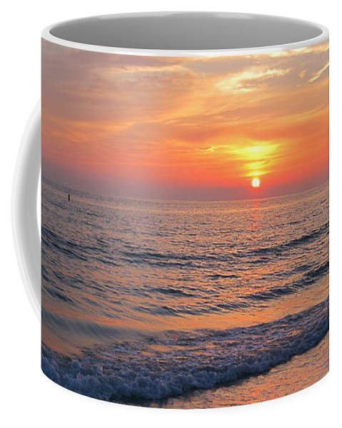 Landscape Coffee Mug featuring the photograph Beautiful Sunset by Megan Cohen