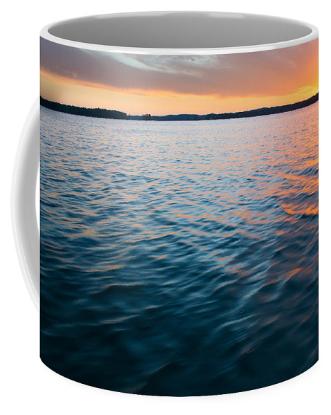 Tropical Sunset Coffee Mug featuring the photograph Beautiful Waters by Parker Cunningham