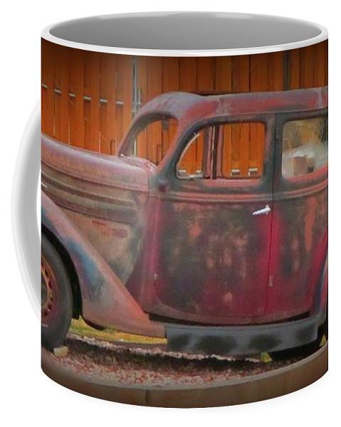 Beautifully Aged Coffee Mug featuring the photograph Beautifully Aged by John Malone