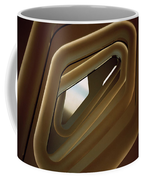 Surreal Coffee Mug featuring the photograph Beauty In Geometry by Shaun Higson