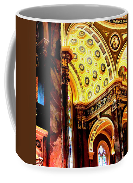 Basilica Of Saint Josaphat Coffee Mug featuring the photograph Beauty Of The Basilica by Karen Majkrzak