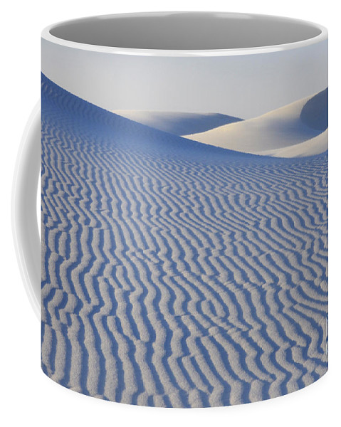 Alamogordo Coffee Mug featuring the photograph Patterns White Sands New Mexico by Bob Christopher