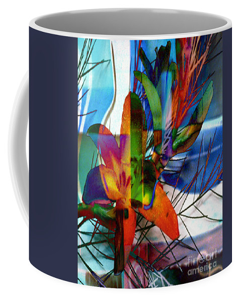 Digital Image Coffee Mug featuring the digital art Beauty by Yael VanGruber