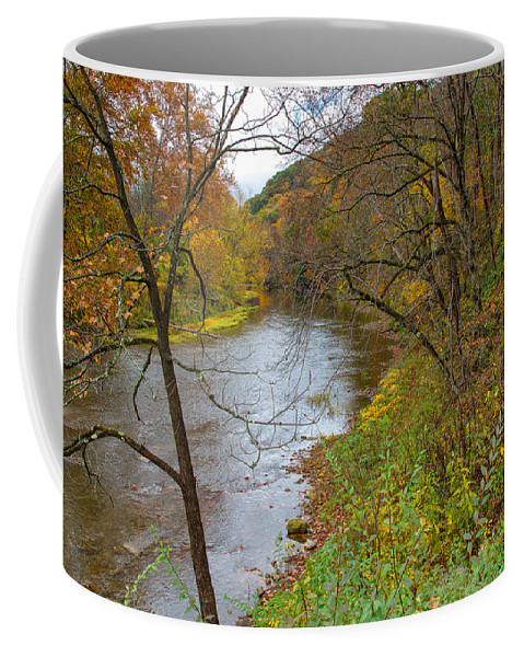 Tree Coffee Mug featuring the photograph Beaver Creek State Park by John M Bailey