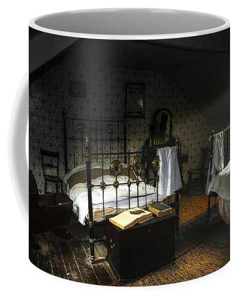 Beamish Coffee Mug featuring the photograph Bedroom by Svetlana Sewell