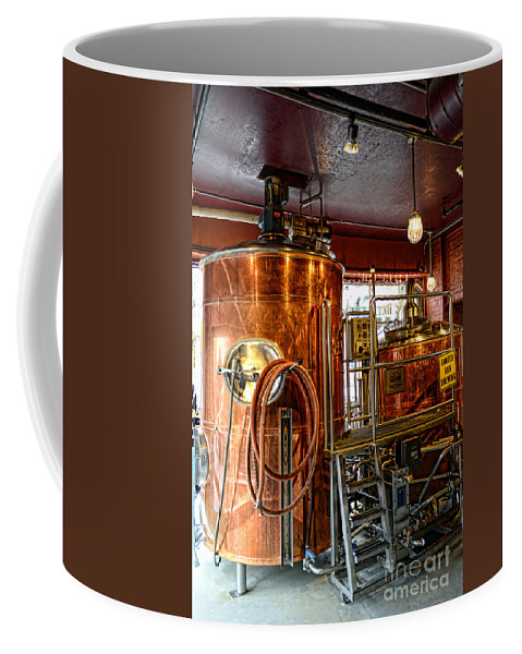Paul Ward Coffee Mug featuring the photograph Beer - The Brew Kettle by Paul Ward