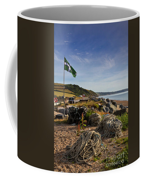 Travel Coffee Mug featuring the photograph Beesands by Louise Heusinkveld