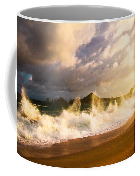 Surf Coffee Mug featuring the photograph Before The Storm by Eti Reid