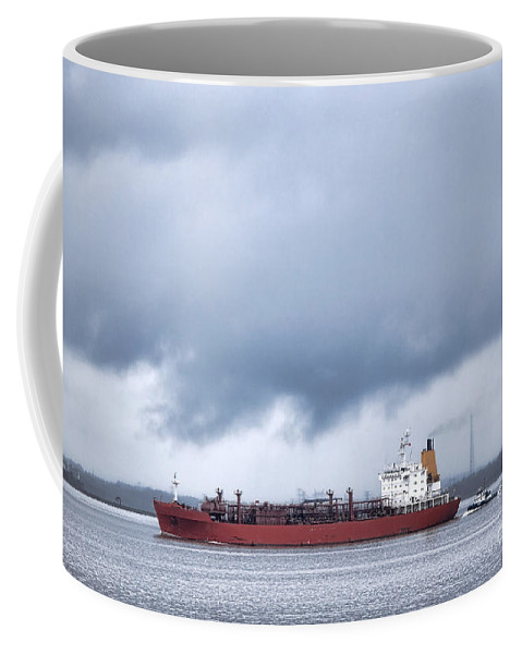 Lpg Coffee Mug featuring the photograph Begin The Voyage by Olivier Le Queinec
