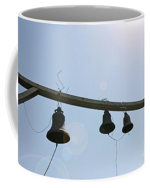 Four Coffee Mug featuring the photograph Bells In The Morning by Lali Kacharava