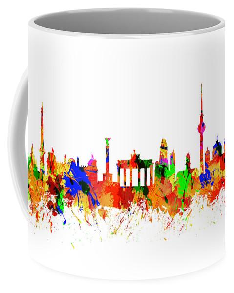 Berlin Coffee Mug featuring the photograph Berlin Brandenburg Gate - 2 by Chris Smith