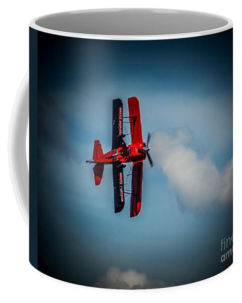 Biplane Coffee Mug featuring the photograph Bert Hunter by Ronald Grogan