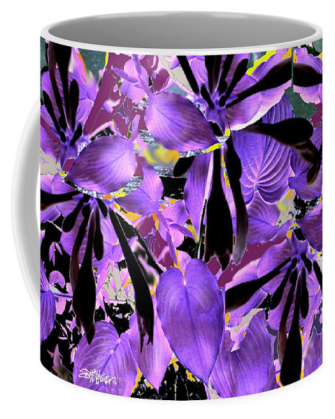 Beware The Midnight Garden Coffee Mug featuring the digital art Beware The Midnight Garden by Seth Weaver