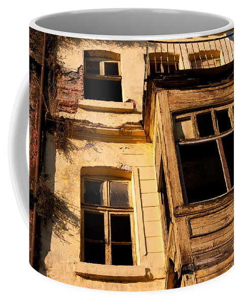 Istanbul Coffee Mug featuring the photograph Beyoglu Old House 02 by Rick Piper Photography