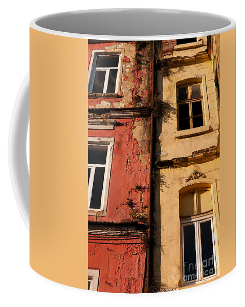 Istanbul Coffee Mug featuring the photograph Beyoglu Old Houses 02 by Rick Piper Photography