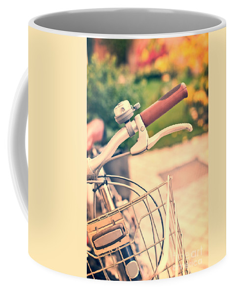 Bicycle Coffee Mug featuring the photograph Bicycle by Delphimages Photo Creations