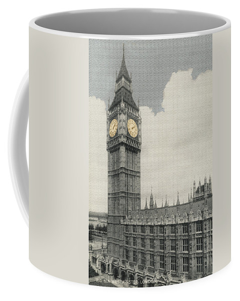 Vintage Coffee Mug featuring the photograph Big Ben by Alan Paul