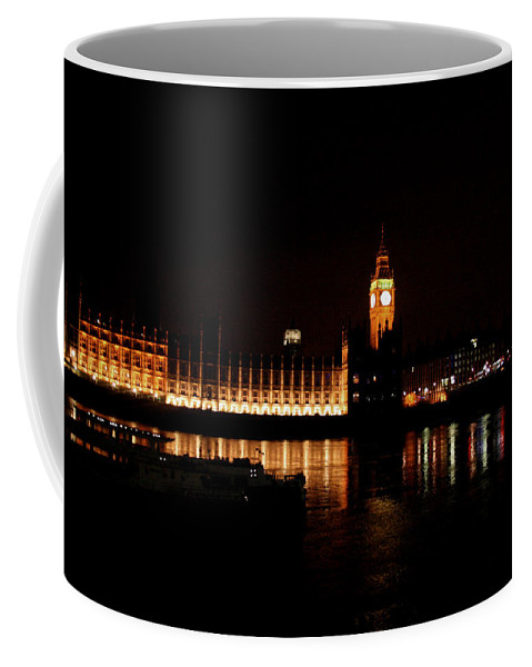 London Coffee Mug featuring the photograph London At Night by Doc Braham