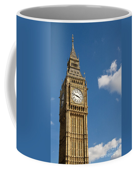 St Stephens Tower Coffee Mug featuring the photograph Big Ben by Rick Piper Photography