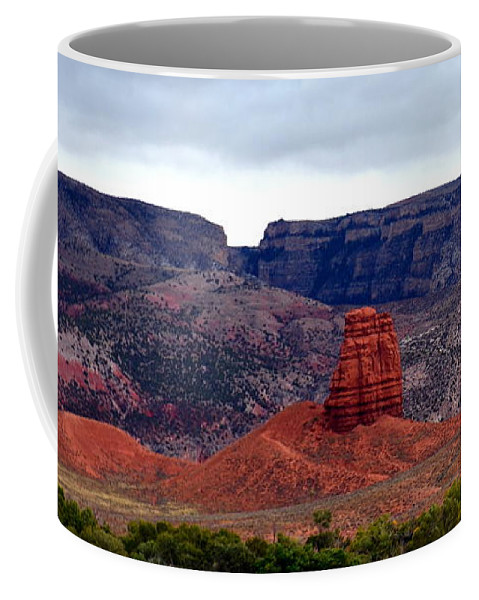 Mountains Coffee Mug featuring the photograph Big Horn Mountains by Jaunine Roberts
