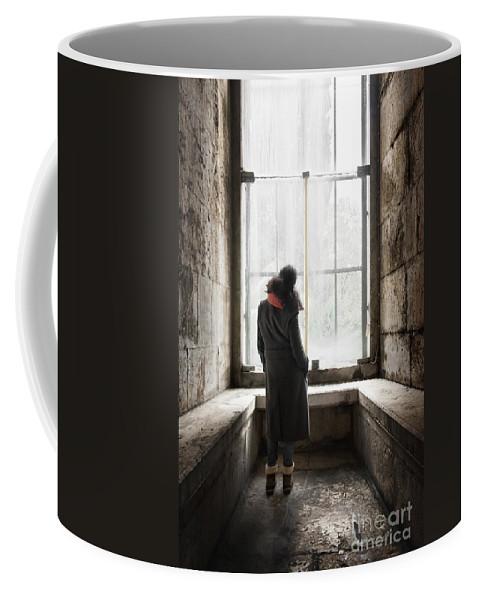 Stone Coffee Mug featuring the photograph Big Window by Carlos Caetano